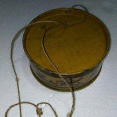 Juguetes antiguos de hojalata: FELIX EL GATO TAMBOR ORIGINAL RICO AÑOS 30. Lote 220897408