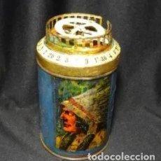 Juguetes antiguos de hojalata: ANTIGUA BARQUILLERA HOJALATA GUARANY DE JUGUETE. Lote 221910586