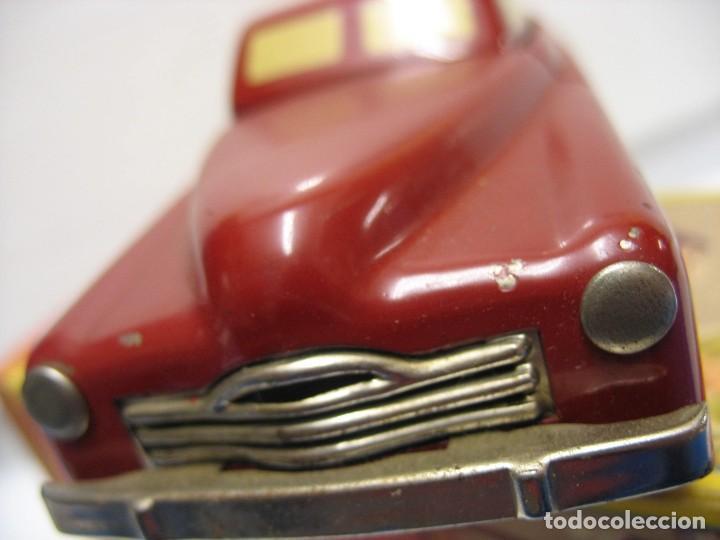 Juguetes antiguos de hojalata: coche rico descapotable con su caja - Foto 6 - 221967112