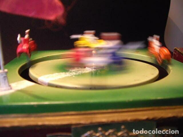 Juguetes antiguos de hojalata: ANTIGUO JUEGO FIRMADO JEP CARRERAS COCHE RARISIMO AÑO 1900 - 1910 MUY BUEN ESTADO CAJA 1490 EUR - Foto 6 - 222502073
