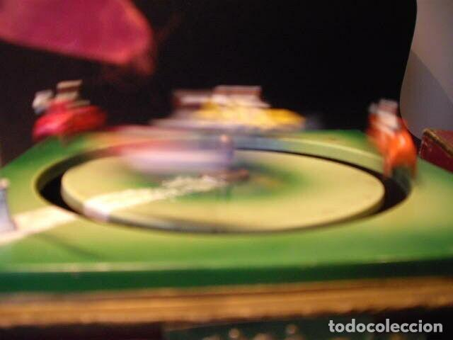 Juguetes antiguos de hojalata: ANTIGUO JUEGO FIRMADO JEP CARRERAS COCHE RARISIMO AÑO 1900 - 1910 MUY BUEN ESTADO CAJA 1490 EUR - Foto 7 - 222502073