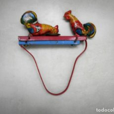 Juguetes antiguos de hojalata: JUGUETE DE LATA. Lote 224113503