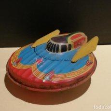 Brinquedos antigos de folha-de-Flandres: ANTIGUA NAVE DE HOJALATA TERRE MARS. PARIS SFA. 15,2 CM. W. Lote 227145025
