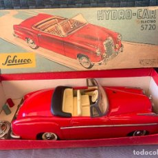 Juguetes antiguos de hojalata: SCHUCO HYDRO-CAR MERCEDES BENZ 220 S RFA 5720 AÑOS 50. Lote 228318392