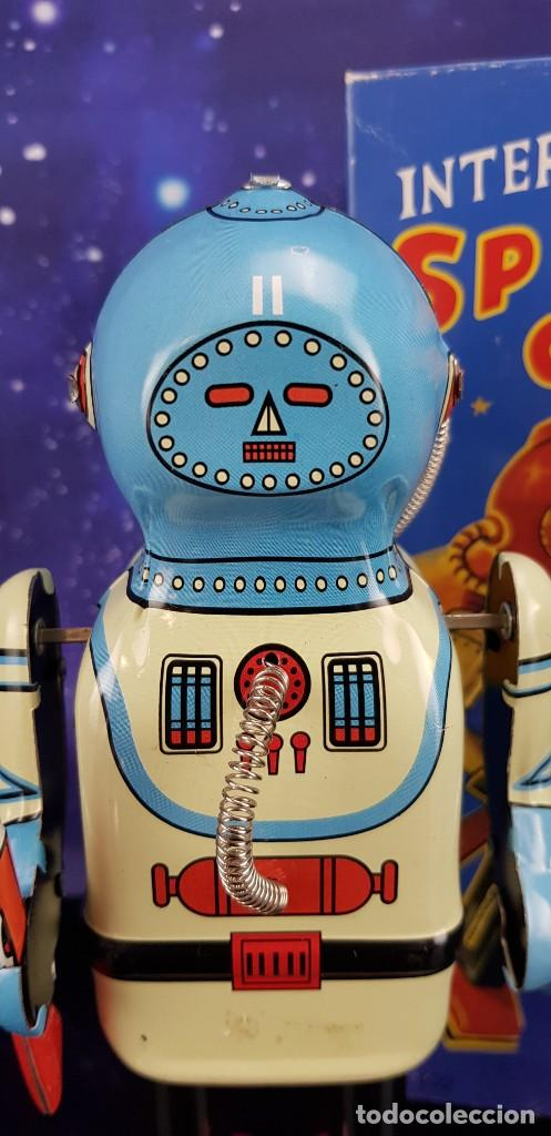 ROBOT DE HOJALATA ESTILO VINTAGE - INTERPLANET SPACE CAPTAIN - EXCELENTE!!! (Juguetes - Juguetes de Hojalata: Reproducciones y Actuales )