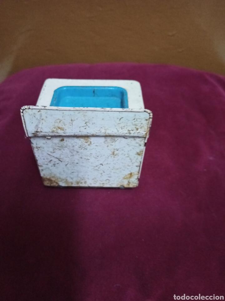 Juguetes antiguos de hojalata: Antigua cocinita de hojalata. - Foto 3 - 232412275