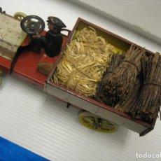 Juguetes antiguos de hojalata: LEHMANN 570 MUY-MUY ANTIGUO CAMION. Lote 232714600