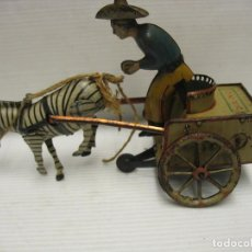 Juguetes antiguos de hojalata: LEHMANN NA-NU MUY-MUY ANTIGUO. Lote 232715680