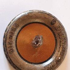 Juguetes antiguos de hojalata: RUEDA DE HOJALATA DUNLOP CORD PARA COMPLETAR COCHE GRANDE O CAMIÓN. Lote 232783445