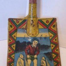 Juguetes antiguos de hojalata: CUATRO PALAS DE HOJALATA AÑOS 40. Lote 232938520