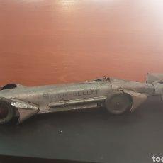 Juguetes antiguos de hojalata: COCHE SILVER-BULLET DE 56 CM. DE RICO. Lote 235909390