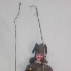 Juguetes antiguos de hojalata: ANTIGUA MARIONETA TÍPICA SICILIANA,SICILIA. Lote 236466835