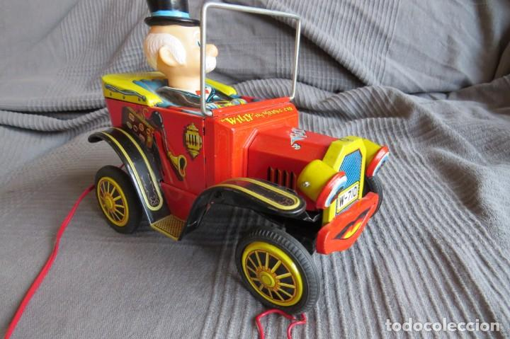 """Juguetes antiguos de hojalata: ANTIGUO COCHE - """"WILLY"""" THE WALKING CAR - MADE IN JAPAN - Foto 2 - 236753555"""