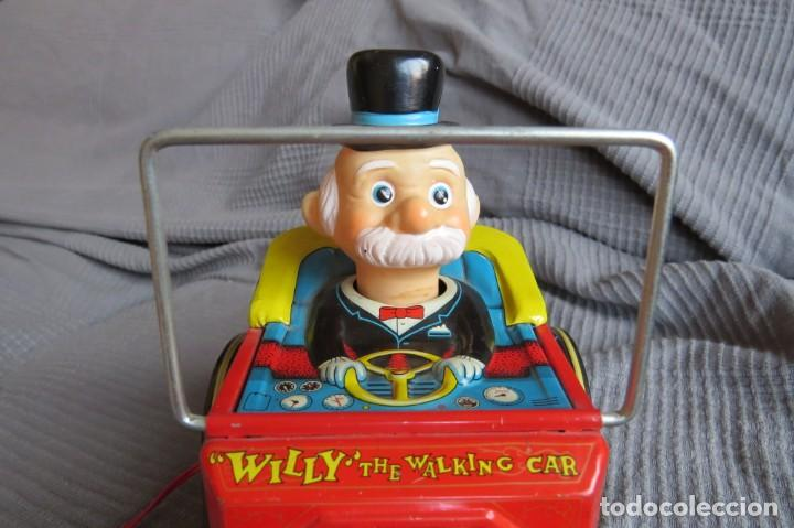 """Juguetes antiguos de hojalata: ANTIGUO COCHE - """"WILLY"""" THE WALKING CAR - MADE IN JAPAN - Foto 3 - 236753555"""