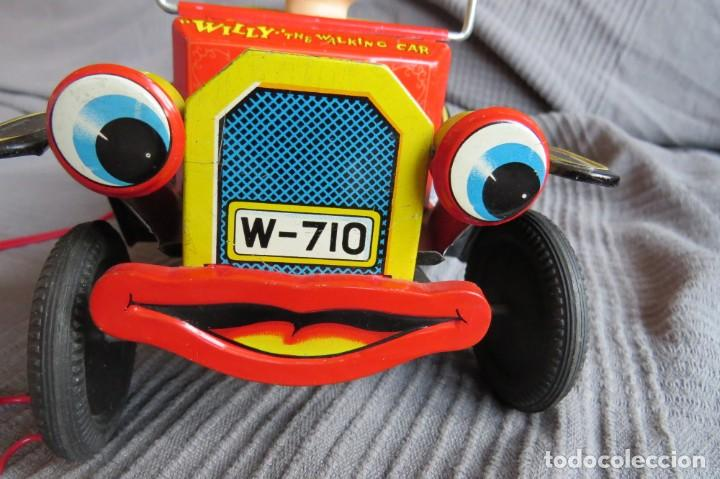 """Juguetes antiguos de hojalata: ANTIGUO COCHE - """"WILLY"""" THE WALKING CAR - MADE IN JAPAN - Foto 5 - 236753555"""