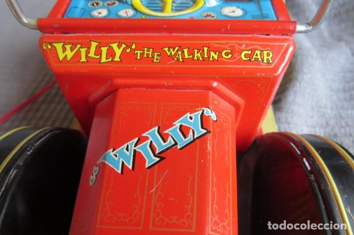 """Juguetes antiguos de hojalata: ANTIGUO COCHE - """"WILLY"""" THE WALKING CAR - MADE IN JAPAN - Foto 8 - 236753555"""