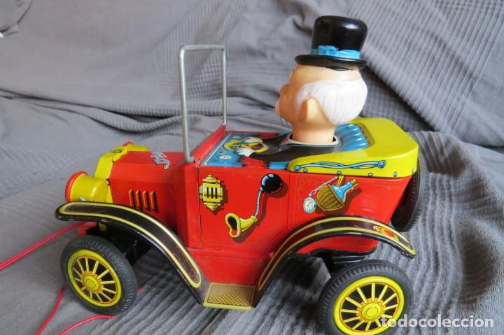 """Juguetes antiguos de hojalata: ANTIGUO COCHE - """"WILLY"""" THE WALKING CAR - MADE IN JAPAN - Foto 9 - 236753555"""