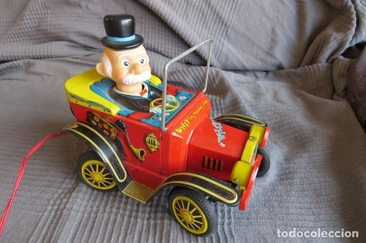 """Juguetes antiguos de hojalata: ANTIGUO COCHE - """"WILLY"""" THE WALKING CAR - MADE IN JAPAN - Foto 14 - 236753555"""