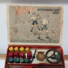 Juguetes antiguos de hojalata: SCHUCO 3000 CAJA ORIGINAL COMPLETO. Lote 240543920