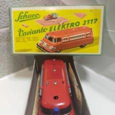 Juguetes antiguos de hojalata: SCHUCO VARIANTO ELEKTRO 3117. Lote 240950790