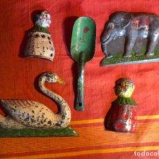 Juguetes antiguos de hojalata: JUEGO DE PLAYA. DENIA, AÑOS 20.. Lote 241725465