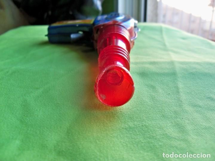 Juguetes antiguos de hojalata: Antigua pistola Espacial de chapa y platico SHUDO made in Japan - Foto 10 - 241551460