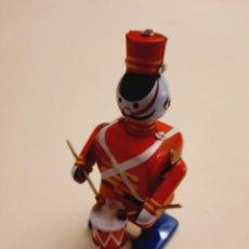 Juguetes antiguos de hojalata: EL TAMBORILERO. Lote 242130550