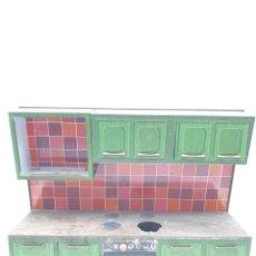 Brinquedos antigos de folha-de-Flandres: JUGUETE HOJALATA COCINA ( MADE IN GERMANY ) VER FOTOS. Lote 244652940