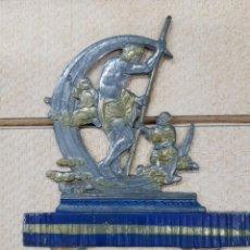 Juguetes antiguos de hojalata: FIGURA PLANA 2000 AÑOS DE CULTURA ALEMANA. MUNICH 1938 BABETTE SCHWEIZER. Lote 245118075