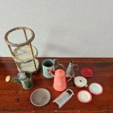 Brinquedos antigos de folha-de-Flandres: ANTIGUOS JUGUETES HOJALATA. Lote 245181450