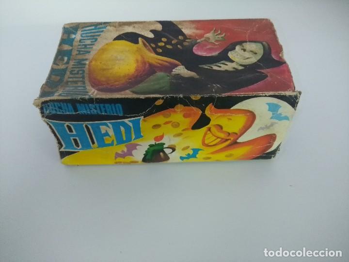 Juguetes antiguos de hojalata: HUCHA MISTERIO HEDI/MADE IN SPAIN AÑOS 70. - Foto 4 - 245565335