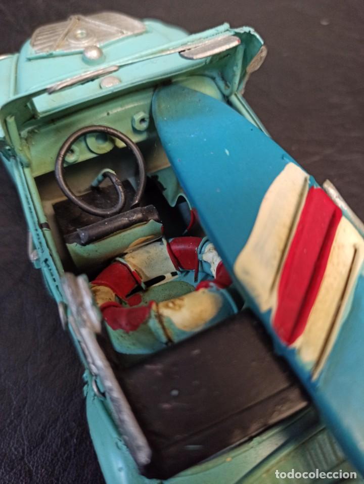 Juguetes antiguos de hojalata: Decorativo escarabajo surfero. Volkswagen. V3 - Foto 5 - 248961520