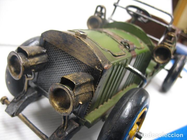 Juguetes antiguos de hojalata: coche vintage - Foto 2 - 251369155