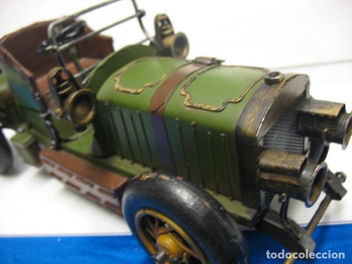Juguetes antiguos de hojalata: coche vintage - Foto 6 - 251369155