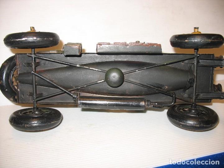 Juguetes antiguos de hojalata: coche vintage - Foto 7 - 251369155