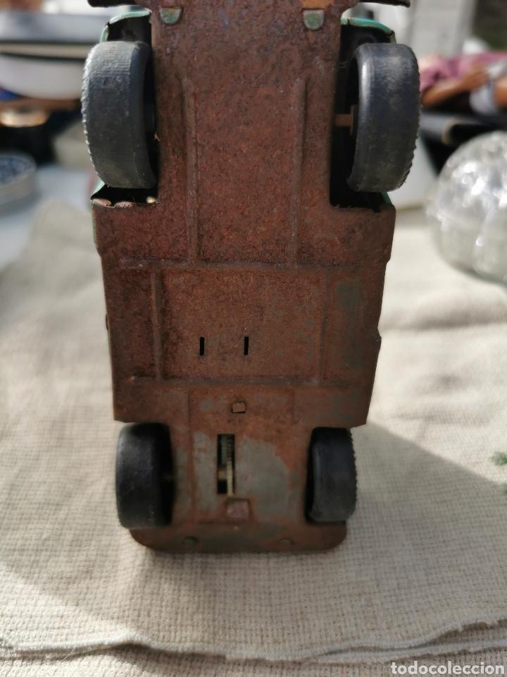 Juguetes antiguos de hojalata: Coche jeep hojalata Guardia Civil agrupación de tráfico payva ibi - Foto 5 - 252172660