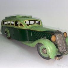Juguetes antiguos de hojalata: *AUTO CARS HOJALATA TURISMO. MARCA RICO, ESPAÑA. AÑOS 30. EN MUY BUEN ESTADO.. Lote 252341700