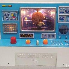 Juguetes antiguos de hojalata: NASA CONTROL CENTER MASUDAYA JAPAN AÑOS 60. FUNCIONANDO.. Lote 253481340