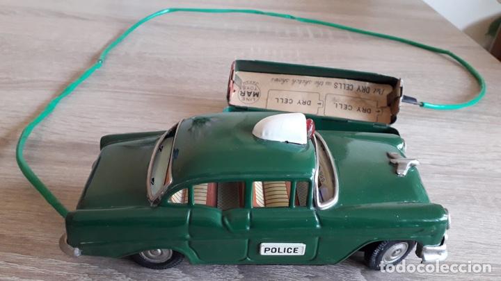 COCHE CHEVROLET DE POLICÍA MADE IN JAPAN AÑOS 50-60 (Juguetes - Juguetes Antiguos de Hojalata Internacionales)