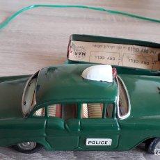 Juguetes antiguos de hojalata: COCHE CHEVROLET DE POLICÍA MADE IN JAPAN AÑOS 50-60. Lote 253906040