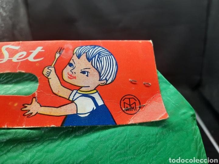 Juguetes antiguos de hojalata: Antiguo juguetes de hojalata de cocina a estrenar - Foto 6 - 262164670