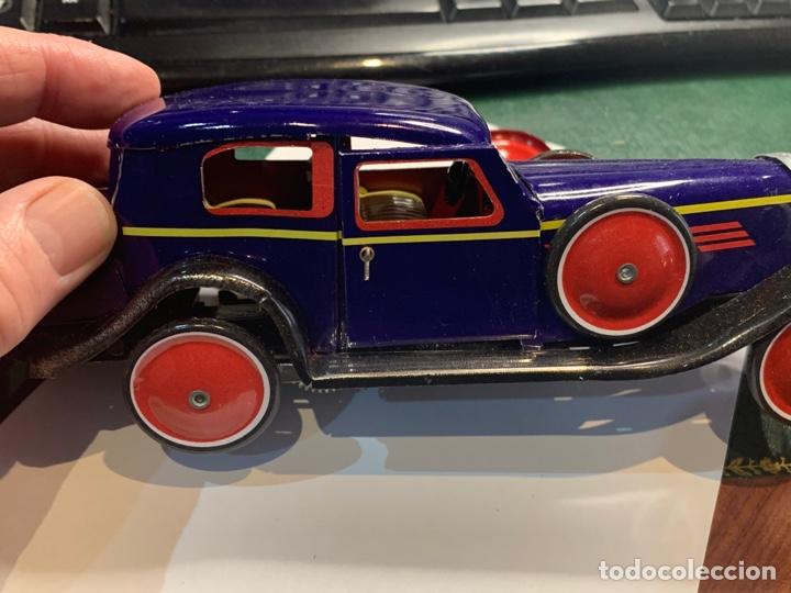 Juguetes antiguos de hojalata: Coche Epoca PAYA - Limusina - juguete hojalata nuevo - reproducción en su caja original- - Foto 2 - 263226535