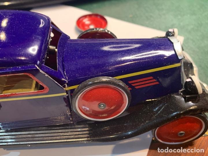 Juguetes antiguos de hojalata: Coche Epoca PAYA - Limusina - juguete hojalata nuevo - reproducción en su caja original- - Foto 3 - 263226535