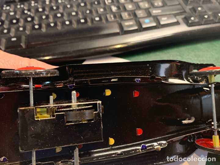 Juguetes antiguos de hojalata: Coche Epoca PAYA - Limusina - juguete hojalata nuevo - reproducción en su caja original- - Foto 8 - 263226535