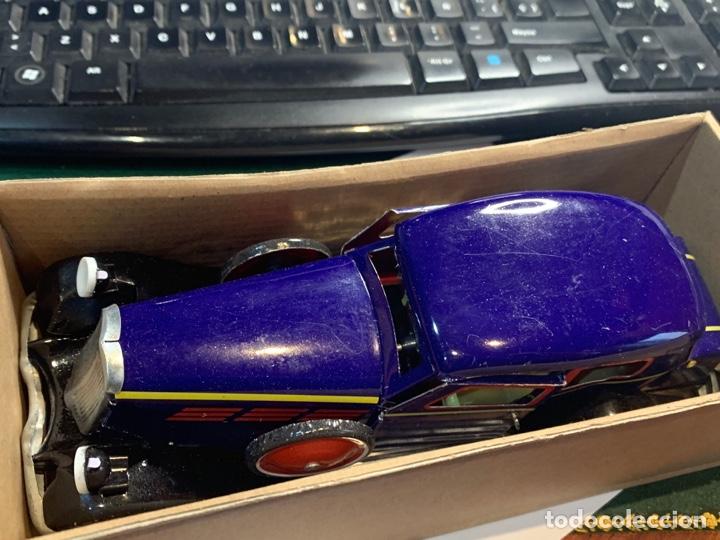 Juguetes antiguos de hojalata: Coche Epoca PAYA - Limusina - juguete hojalata nuevo - reproducción en su caja original- - Foto 9 - 263226535