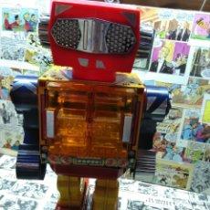 Juguetes antiguos de hojalata: SUPER GIANT ROBOT. HORIKAWA. MADE IN JAPÓN.. Lote 264424904