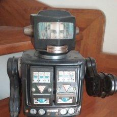 Juguetes antiguos de hojalata: ROBOT MON EXPLORER HOJALATA-VER VIDEO. Lote 265491569