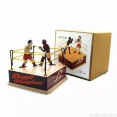 Juguetes antiguos de hojalata: RING DE BOXEO DE HOJALATA. Lote 266718028