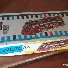 Juguetes antiguos de hojalata: LOCOMOTORA EGE. Lote 267555099