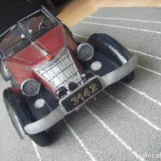 Juguetes antiguos de hojalata: LARGE TINPLATE CAR -POSSIBLY 1936 WANDERER TOURER (BECAME AUDI -AUTO UNION) SUBSTANTIAL MODEL. Lote 269631343